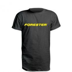 Подовжена футболка FORESTER