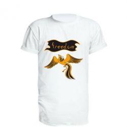Подовжена футболка Freedom!