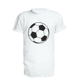 Подовжена футболка Футбольний м'яч