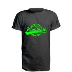 Подовжена футболка Гандбол Лого