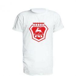 Удлиненная футболка ГАЗ - FatLine
