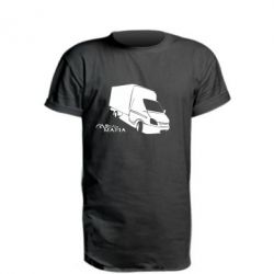Удлиненная футболка Газель Мафия