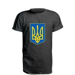 Подовжена футболка Герб неньки-України