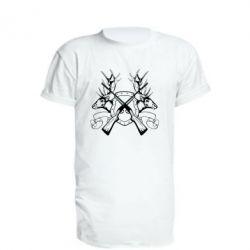 Подовжена футболка Герб Охотника