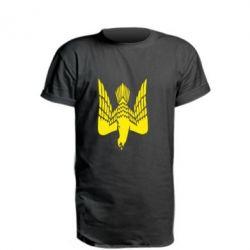 Подовжена футболка Герб-сокіл