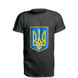 Удлиненная футболка Герб України 3D