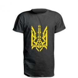 Подовжена футболка Герб з металевих частин