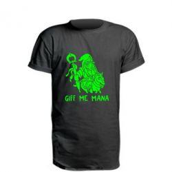 Удлиненная футболка Giff Me Mana