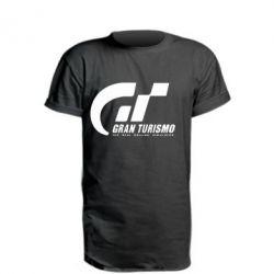 Удлиненная футболка Gran Turismo - FatLine