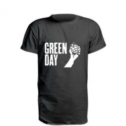 "Подовжена футболка Green Day "" American Idiot"