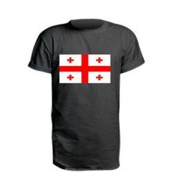 Подовжена футболка Грузія
