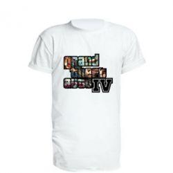 Подовжена футболка GTA IV