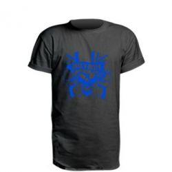 Подовжена футболка Guns n' Roses Logo