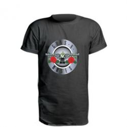 Удлиненная футболка Guns n' Roses - FatLine