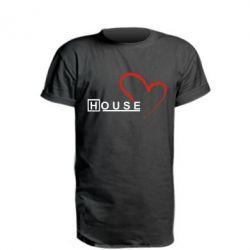 Подовжена футболка H