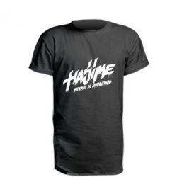 Удлиненная футболка Hajime - FatLine