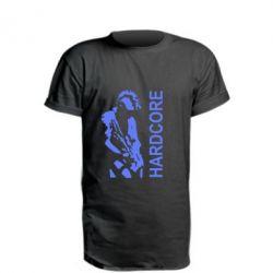 Подовжена футболка Harcore