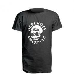 Удлиненная футболка Hardrock lifestyle - FatLine