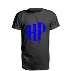 Подовжена футболка Harry Potter logo 1