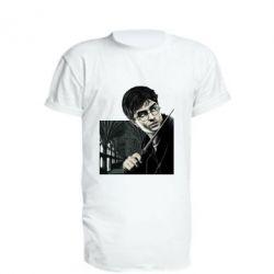 Удлиненная футболка Harry Potter