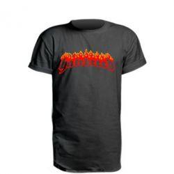 Удлиненная футболка Hatebreed