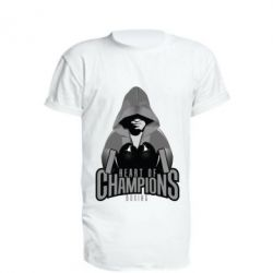 Удлиненная футболка Heart of Champions