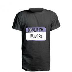 Подовжена футболка Hello, I'm hungry