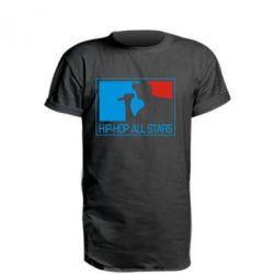 Подовжена футболка Hip-hop all stars