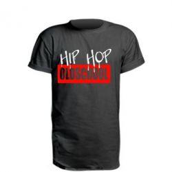 Подовжена футболка Hip Hop oldschool