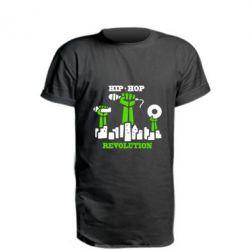 Удлиненная футболка Hip-hop revolution