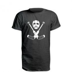 Подовжена футболка Хокейна маска