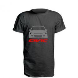 Подовжена футболка Honda Civic