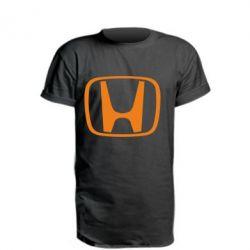 Удлиненная футболка Honda Logo