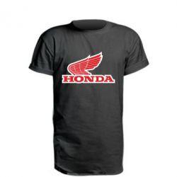 Подовжена футболка Honda Vintage Logo