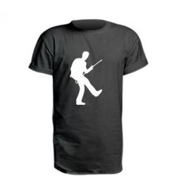 Подовжена футболка House танцює