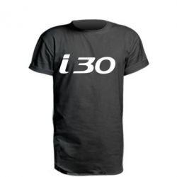 Удлиненная футболка HYUNDAI i30