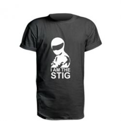 Удлиненная футболка I am the Stig - FatLine