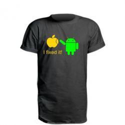 Подовжена футболка I fixed it! Android