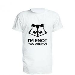 Удлиненная футболка I'm ENOT