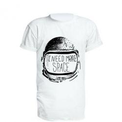 Удлиненная футболка I need more space