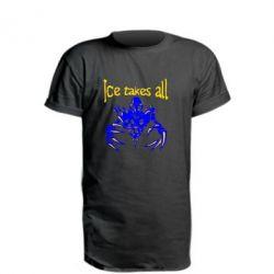 Удлиненная футболка Ice takes all Dota