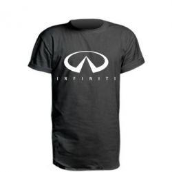 Удлиненная футболка Infiniti