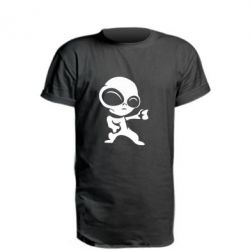 Подовжена футболка Інопланетянин