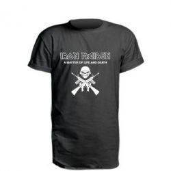 Удлиненная футболка Iron Maiden - FatLine