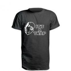 Удлиненная футболка It's a TRAP
