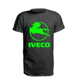 Удлиненная футболка IVECO