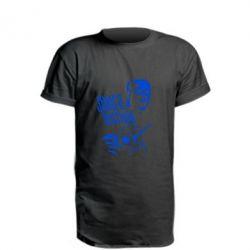 Удлиненная футболка James Hetfield