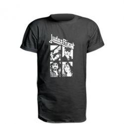 Подовжена футболка Judas Priest