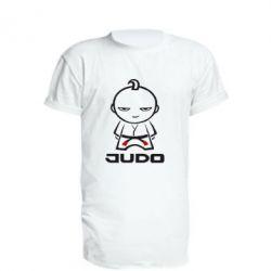 Подовжена футболка Judo Fighter