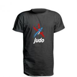 Подовжена футболка Judo Logo